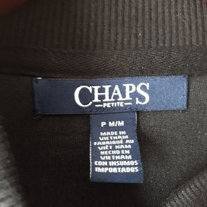 Chaps Jackets & Coats - Chaps Stretch Velour Bomber Jacket